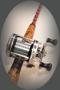 Captain Fred Duncan's Handmade Custom Striper Fishing Rods